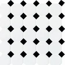 daltile octagon and dot 2 x 2 ceramic mosaic tile in glazed
