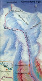 Mt Everest Map Tibet Autonomous Region U0026 Lhasa City Tourist Maps Tibet Insider