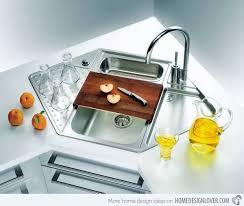 corner kitchen sink ideas 15 cool corner kitchen sink designs home design lover