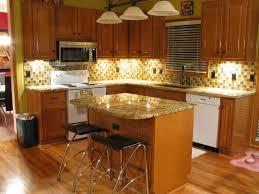 kitchen fancy kitchen decoration with various tile kitchen full size of kitchen fancy l shape decoration ideas using light brown mosaic tile backsplash along
