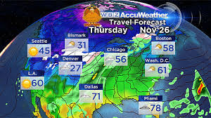 weather for thanksgiving thanksgiving travel forecast no weather complications cbs boston