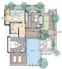 villa floor plan floor plan pool villa samui spa ideas villas
