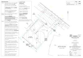 how to read house construction plans plan 2 site plan