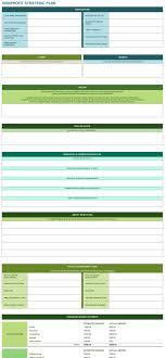 Strategic Planning Template Excel 9 Free Strategic Planning Templates Smartsheet