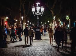light for walking at night 20130601 romantic night walk old town center barcelona jpg michael