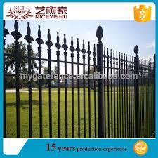 italian style decorative iron fence design ornamental cast iron