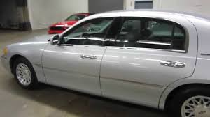 super clean 1998 lincoln town car signature series sold