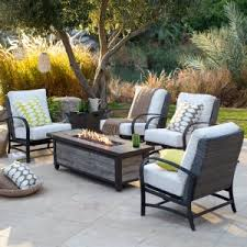 amusing patio furniture with fire pit table new at interior designs