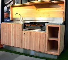 fabriquer sa cuisine en bois cuisine d ete en bois construire sa cuisine dete en bois globr co