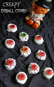 bloodshot eyeball cookies recipe for halloween simply southern mom