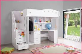 chambre fille lit mezzanine lit mezzanine avec bureau et armoire 17813 chambre enfant lit