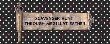 megillat esther online hebrew scavenger hunt through megillat esther