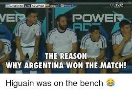Colombia Meme - en vivo argentina 2 0 colombia 2222 conmcalonoo inh nep power the