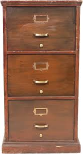 vintage 4 drawer wood file cabinet best home furniture decoration