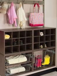 designer tips for hanging storage hgtv
