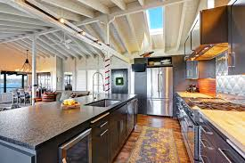 Floor To Ceiling Kitchen Cabinets 46 Kitchens With Dark Cabinets Black Kitchen Pictures