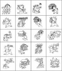 pigs printable story book image mag