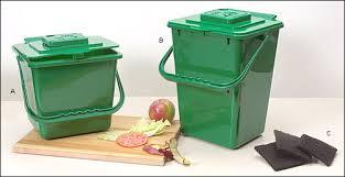 poubelle compost pour cuisine bacs à compost de cuisine valley tools