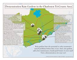 South Carolina County Map Demonstration Rain Gardens Clemson University South Carolina