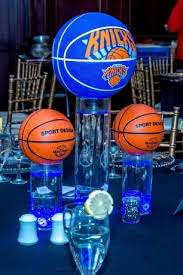 basketball centerpieces sports themed centerpieces balloon artistry