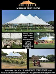 tent rental island htons fork tent event rentals east end wedding guide