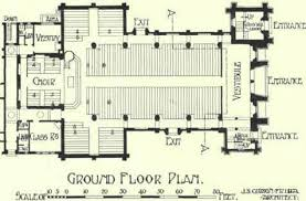 Exceptional Floor Plans For Churches Part 3 Church Floor Plans by Chapter Ii Catholic Churches