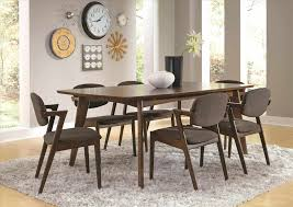 Kitchen Set Furniture Table Casual Dining Table With Driftwood U Taupe Finish Coaster