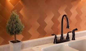 copper backsplash tiles for kitchen brilliant copper backsplash tiles in pictures kitchen idea 26