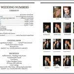 playbill wedding program wedbill a playbill like wedding program template playbill wedding