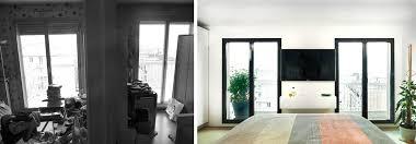 chambre architecte avant après architecture d intérieur d un 4 pièces de 100m2