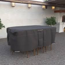 Rectangular Patio Furniture Covers Taupe Collection Oval Rectangle Patio Table And Chair Cover