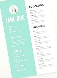 Resume Template Word 2003 Cool Resume Templates U2013 Inssite
