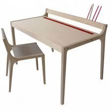 bureau enfant design afra bureau enfant bouleau naturel feutre gris de sirch