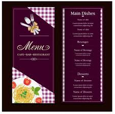 cafe menu template coffee bean and contrast background vectors
