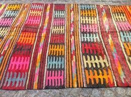 Modern Kilim Rugs Modern Bohemian Kilim Rug Vintage Kilim Rug Decorative Bright Pink
