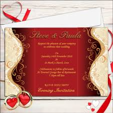 gold wedding invitations 10 personalised gold wedding invitations day evening no32