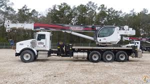 kenworth t800 automatic for sale 5096s mounted to 2012 kenworth t800 tri drive chassis crane for