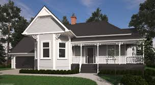 Victorian Style Floor Plans by Victorian Bay Villa House Plans New Zealand Ltd