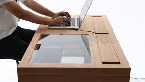 Modern Desk With This Modern Desk You Ll Never Miss Your Phone S Notifications