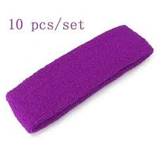 basketball headbands 10 pcs set sports basketball headbands sweatbands sweat