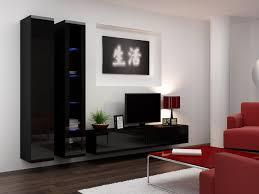 Black Living Room Furniture Uk Living Room Furniture Vigo 3 Black White Gloss Mebline