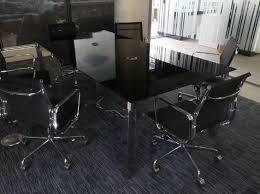 Black Boardroom Table Splendid Black Glass Boardroom Table With Black Glass Meeting