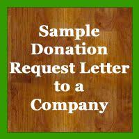 sample donation request letter and donation card letters