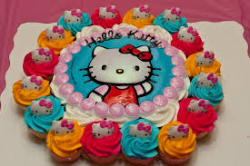 hello birthday cakes hello birthday cake and cupcakes image inspiration of cake