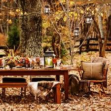 fall entertaining decor outdoor harvest thanksgiving table