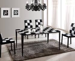 black and white dining room ideas emejing black and white dining room gallery home design ideas