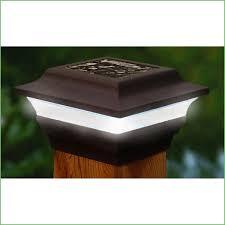 Solar Deck Lights Lowes - lighting solar led garden post cap lights 6 pack aurora pegasus