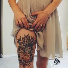 101 so flirty leg tattoos designs to increase the heat