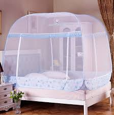 Mosquito Net Bed Canopy Open Pop Up Mosquito Net Bed Canopy Ger Type 4 Corner Bug