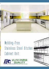 rta flat packed construction stainless steel kitchen cabinet buy